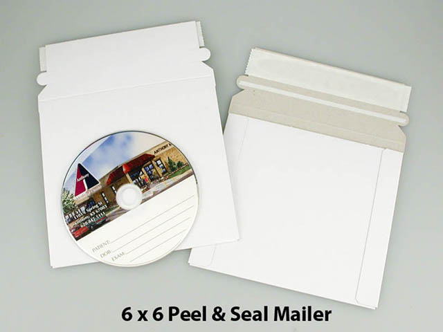 6x6 Peel and Seal Mailer