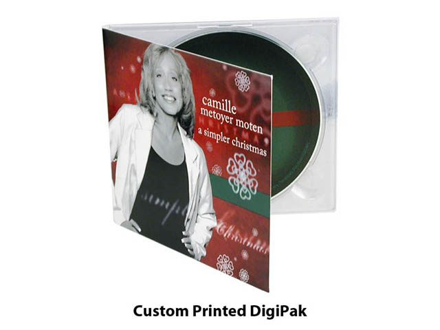 Custom Printed CD Digipak
