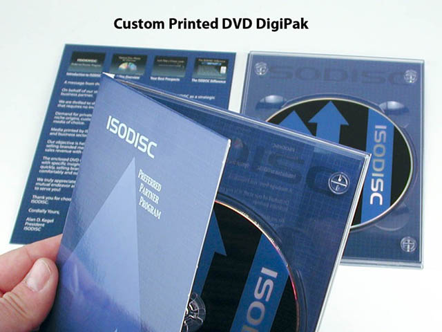 Custom Printed DVD Digipak