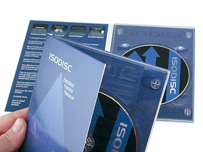 Standard 4 Panel DVD DigiPak