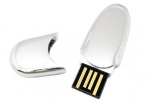 FD-446 Capped Metal USB Flash Drive