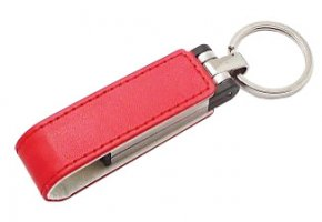FD-454 Leather & Metal USB Flash Drive