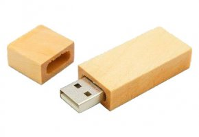 Model FD-873 Wooden USB Flash Drive