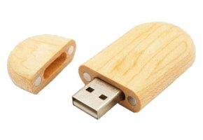 Model FD-908 Wooden USB Flash Drive