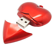 Model FD-420 Locket USB Flash Drive