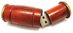 Model FD-524 Wooden USB Flash Drive