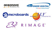 We are VARs for Acronova, Vinpower Digital, Microboards, ILY, Rimage.