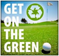 Get on the Green Recycle logo
