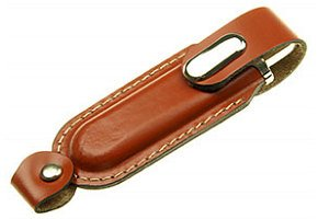 FD-837 Leather w/Self Cap USB Flash Drive