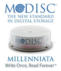 M-Disc The New Standard in Digital Storage Millenniata Write Once, Read Forever.