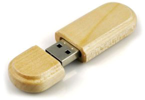 Model FD-912 Wooden USB Flash Drive