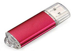 FD-871 Clear Cap Drive USB Flash Drive