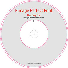 Rimage Perfect Print Disc Template