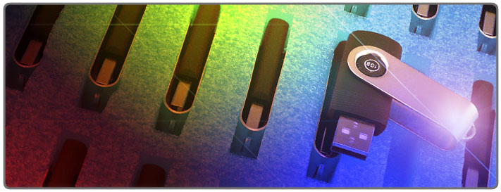 USB Flash Header Image