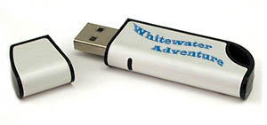 Whitewater Adventure USB Flash Drive